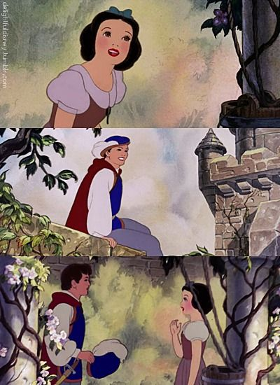 Snow White Disney dieulois