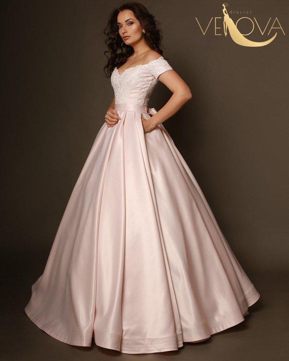 54db81e772756 simple wedding dress, lace bridal top, plus size wedding dress, embroidered  dress, victorian wedding