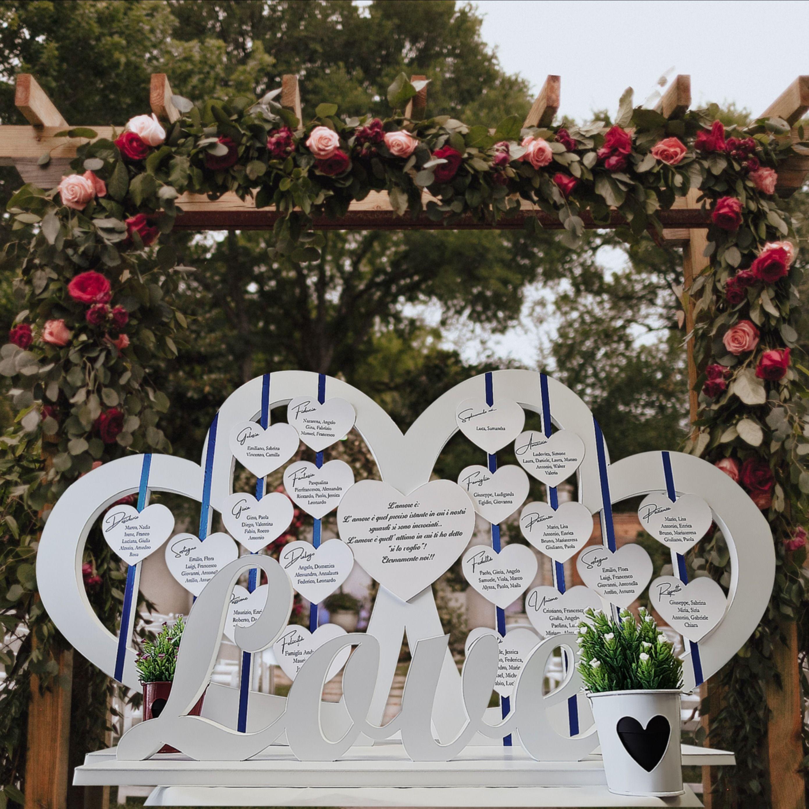 Tableau Tema Amore Nel 2020 Tableau Matrimonio Matrimonio Tema