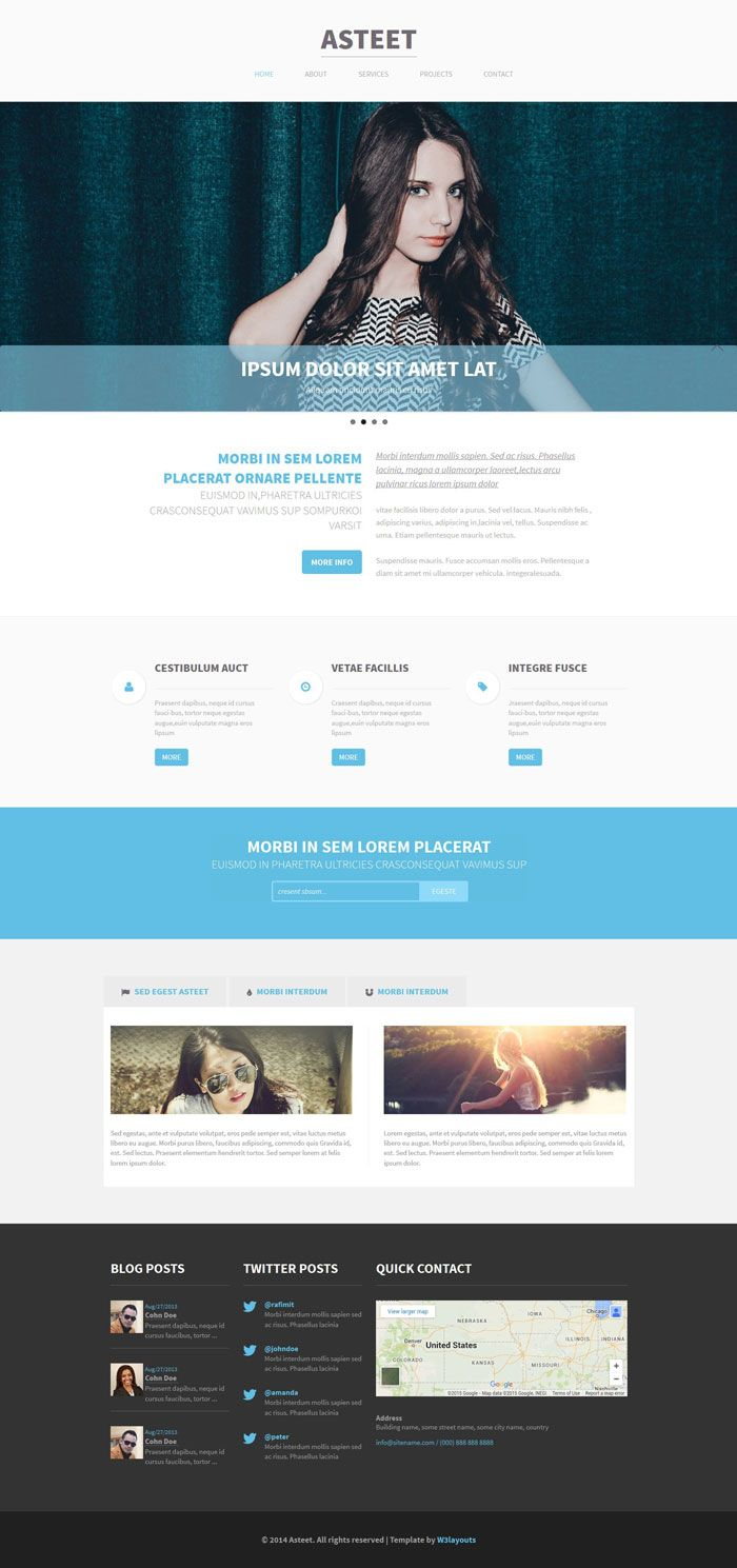 45 Free Bootstrap HTML5 Responsive Templates   Bootstrap Templates ...