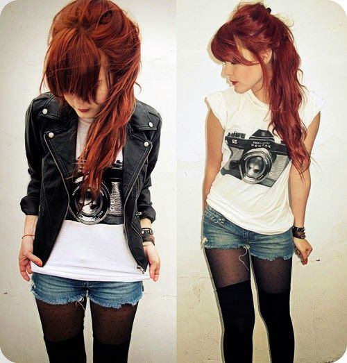 Hipster Hairstyles Tumblr For Girls Fashion Grunge Fashion Style