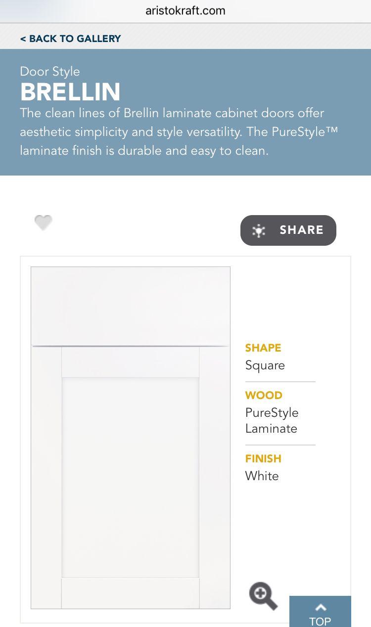 Best White Shaker Aristocraft Brellin In 2019 Shaker Style 400 x 300