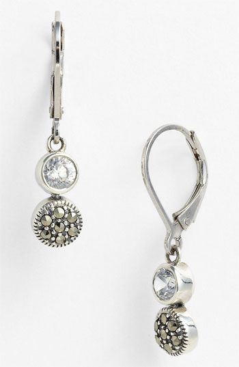 Judith Jack Marcasite Earrings available at #Nordstrom