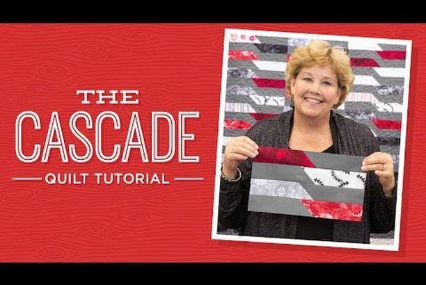Make A Cascade Quilt With Jenny Missouri Star Quilt Company Youtube Missouri Star Quilt Company Tutorials Missouri Star Quilt Company Missouri Quilt Tutorials