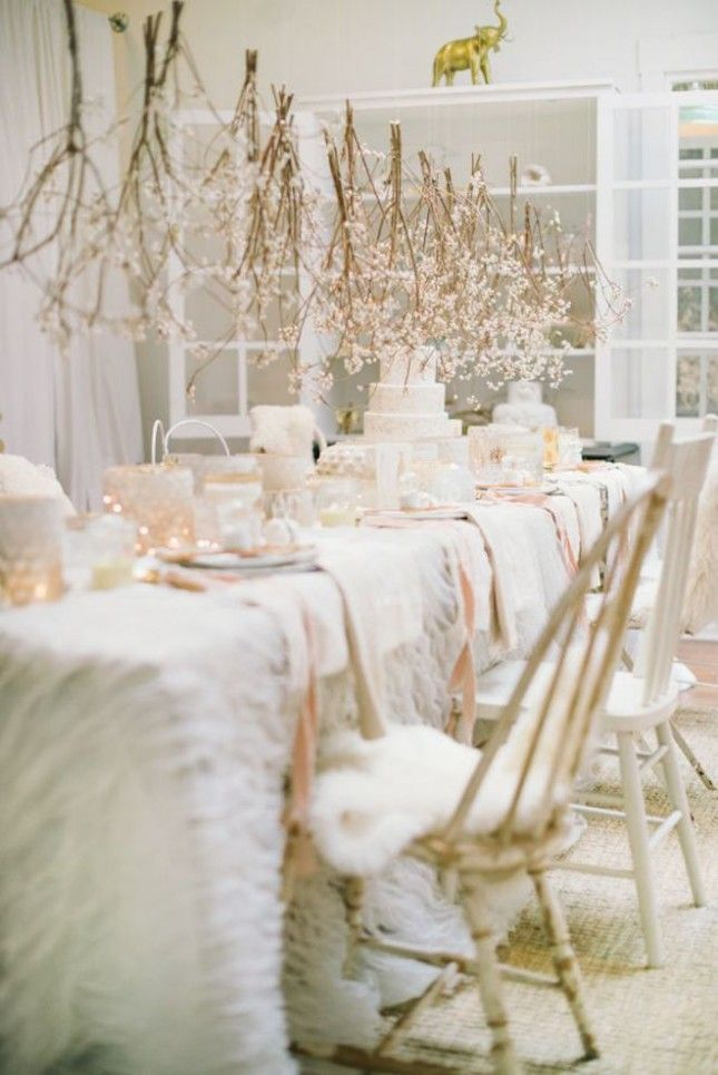 17 Engagement Party Ideas More Fun Than Your Wedding via Brit + Co #allwhiteparty