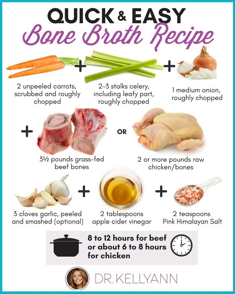 """to Make Bone Broth the Easy Way I believe that even the simplest bone broth tastes just as good as the gourmet versions. This is my """"Back to Basics"""" bone broth recipe... and guess what? ... Out of one of the vegetables? Skip them. ... Out of all the vegetables? Skip them. ... Not sure what bones to use? Go to an organic grocery store and ask the butcher. ..."""