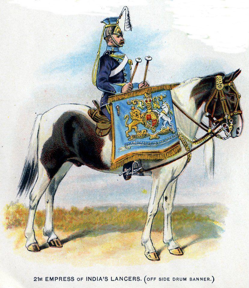 Battle Of The Kettles: British; 21st Empress Of India Lancers, Kettle-Drummer
