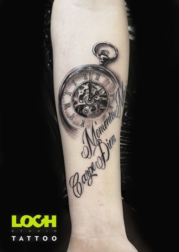 Tatuaż Lochstudiotatuażu Tatuażwarszawa