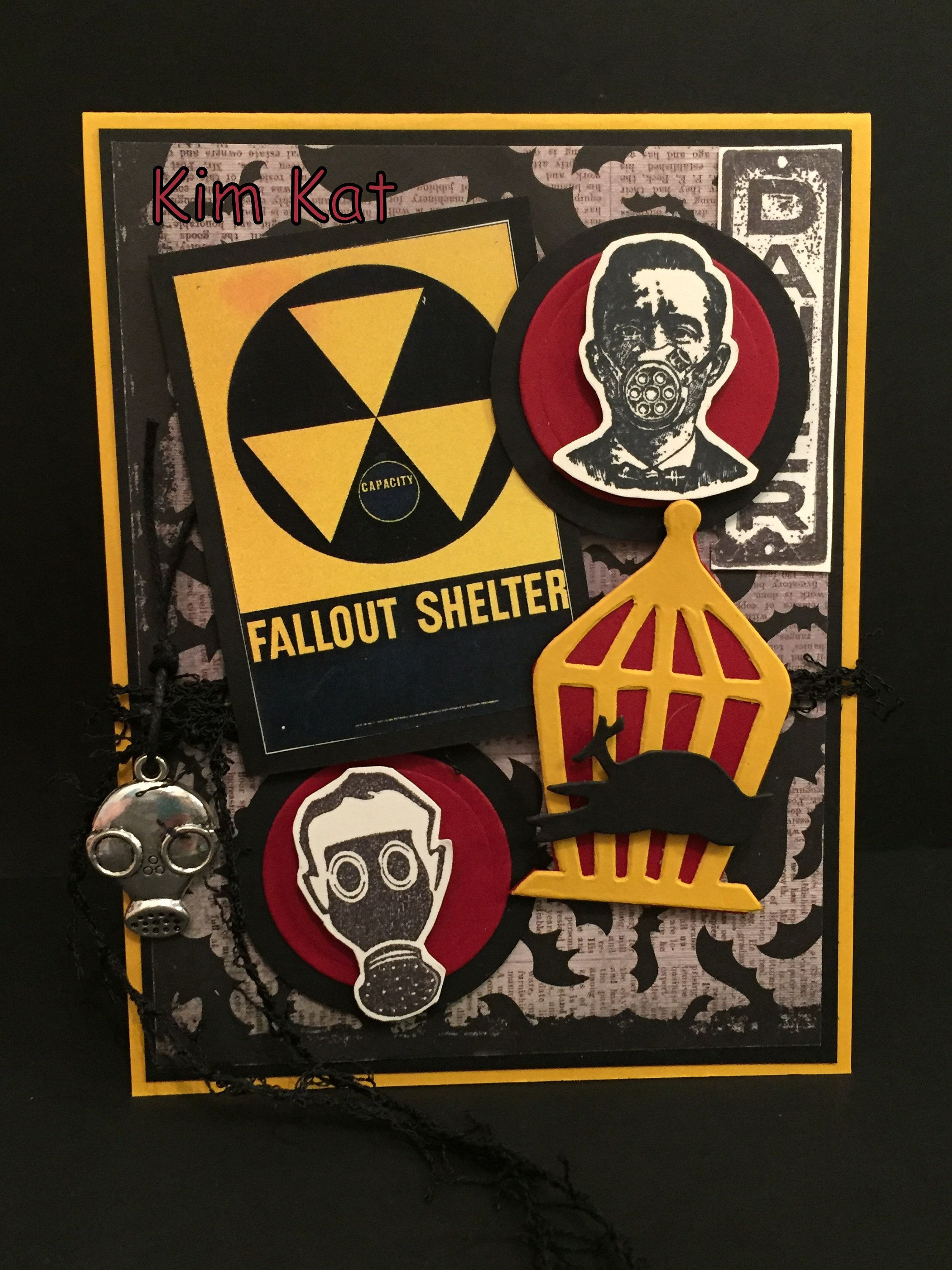 Fallout Shelter Halloween 2020 Halloween Card Pop Up Chernobyl Disaster Gas Mask Fall Out   Etsy