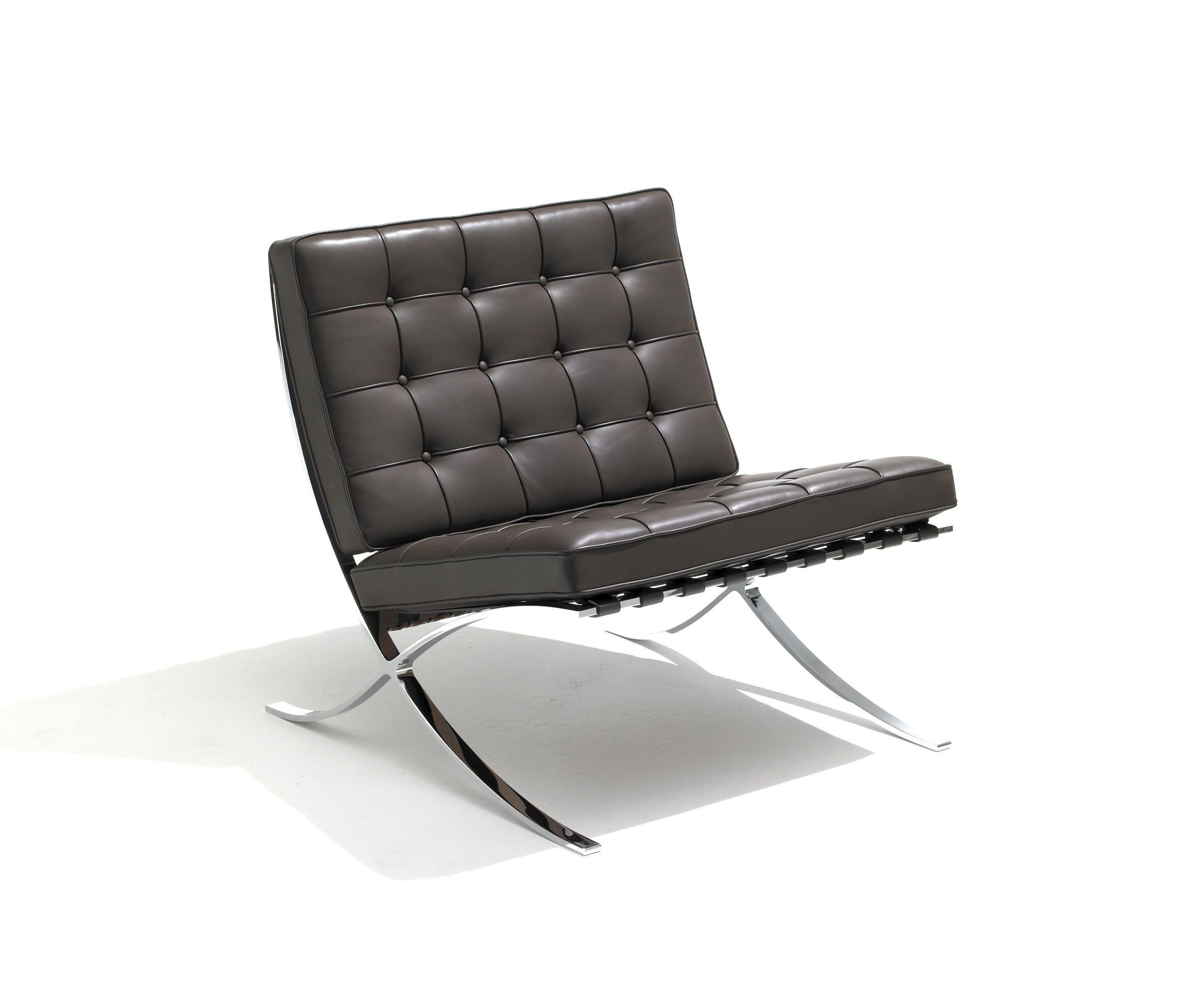 Barcelona chair by knoll international lounge chairs