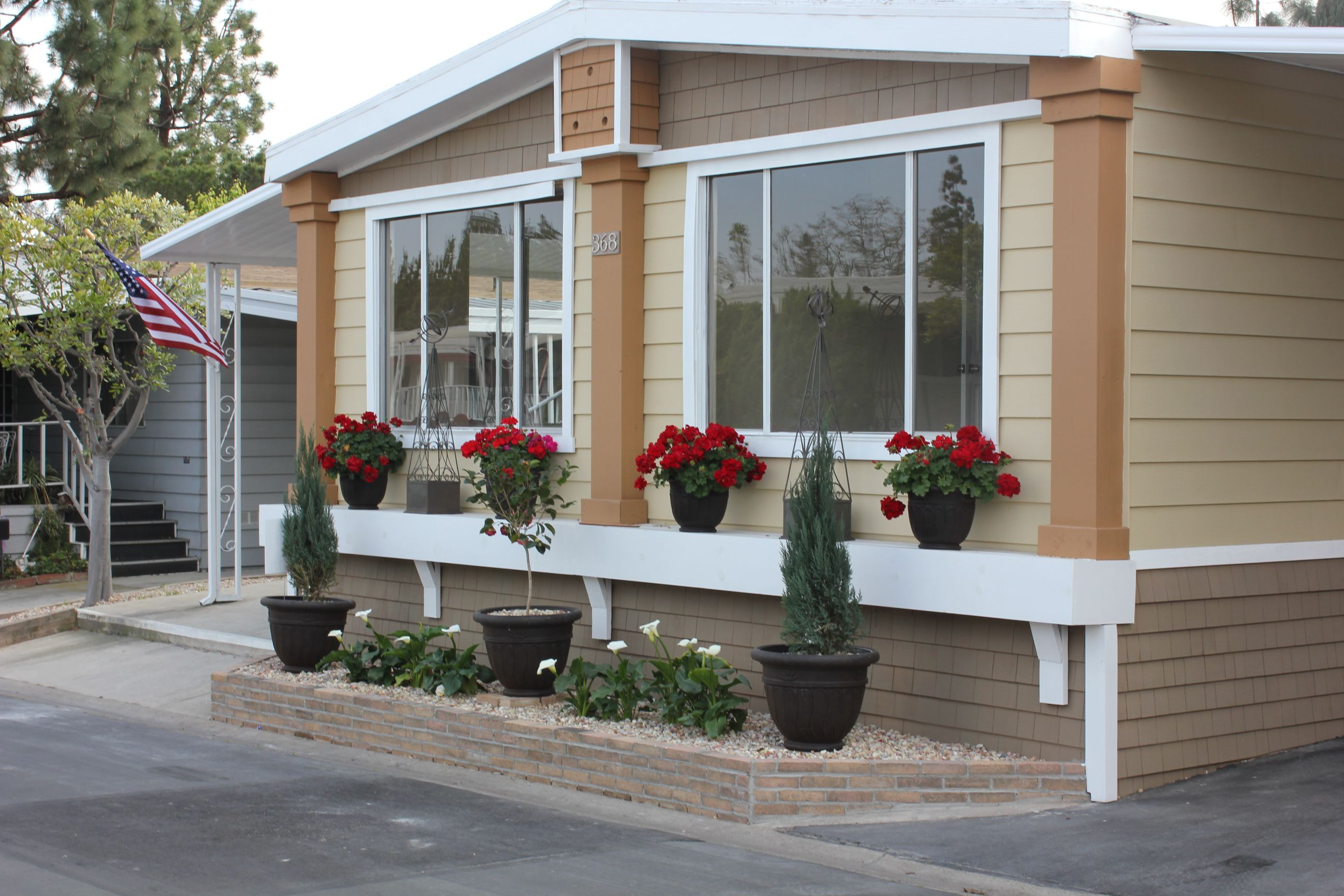 the aluminium doors are another type of mobile home interior doors