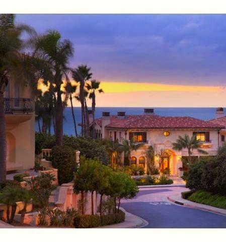 Sunset On Beautiful Mediterranean Homes .
