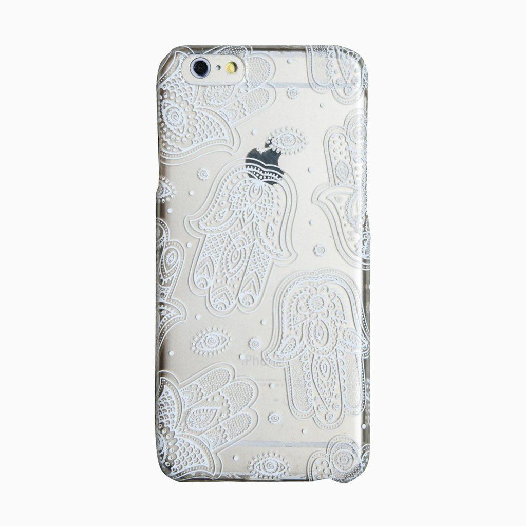 Clear Hamsa iPhone 6 Plus Case
