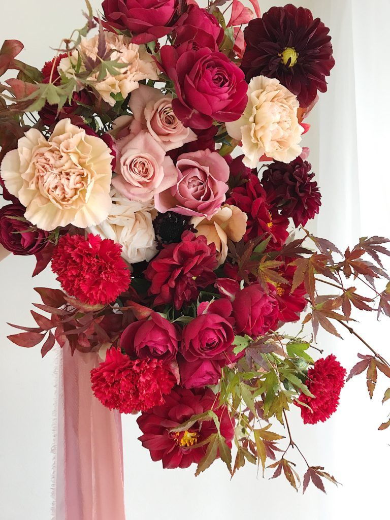 Botanical Brouhaha A Flower Blog Featuring The Best Floral Design Florists Wedding Flowers Red Wedding Flowers Wine Red Wedding Red Bouquet Wedding