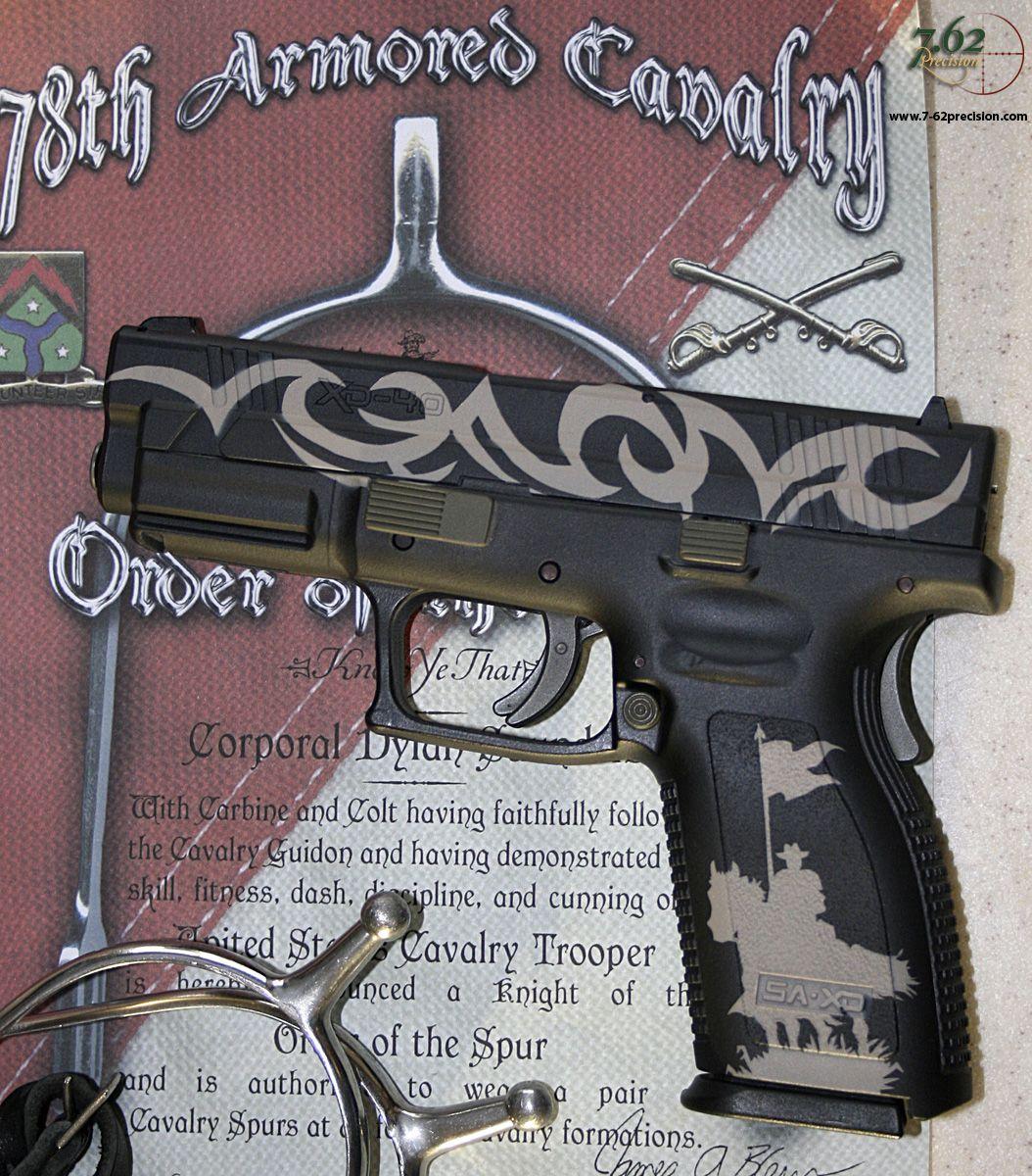 Cavalry Pistol Springfield Xd   Precision  Gun Finishes