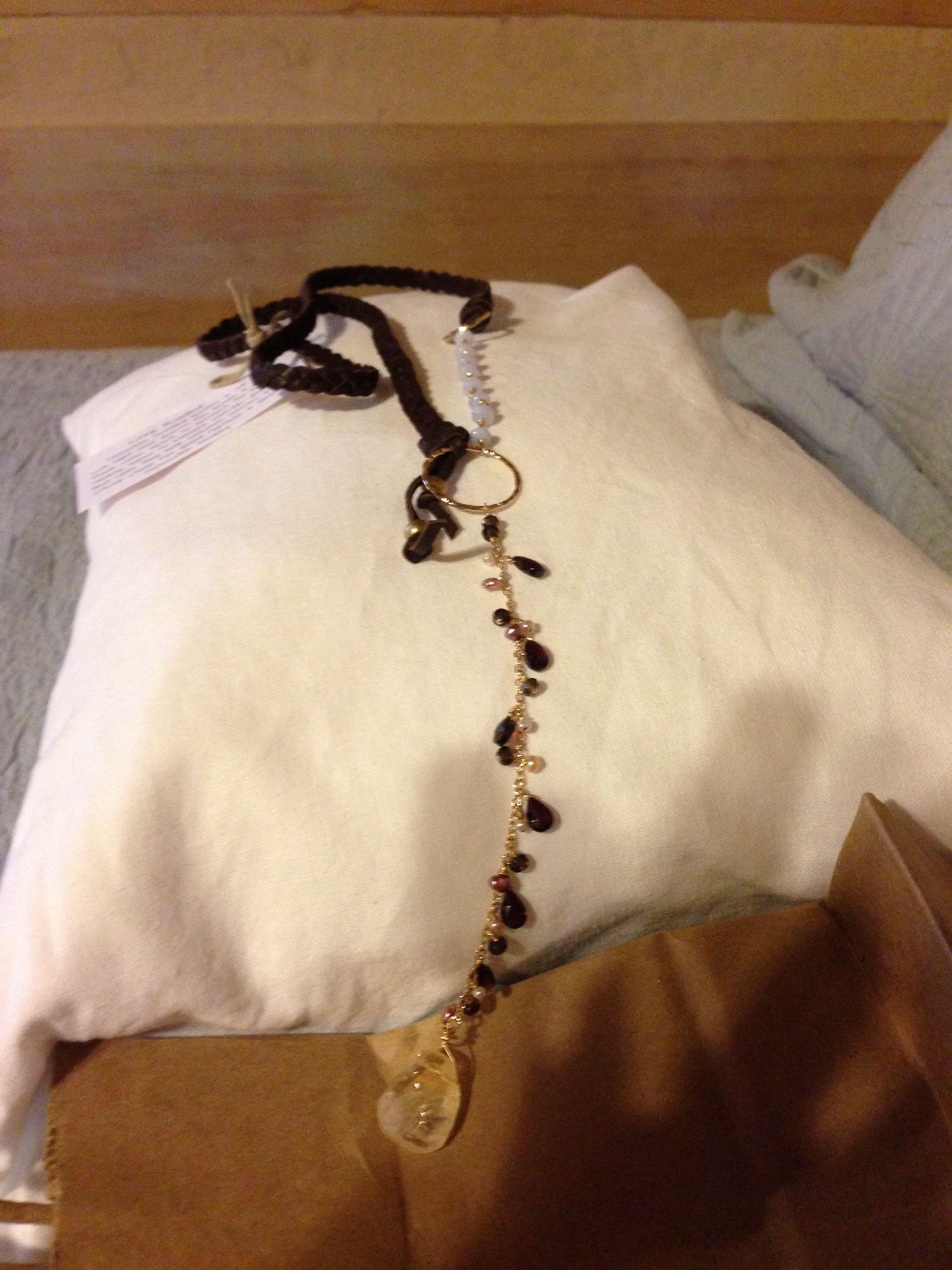 Vanessaleejewelry.com.  Long chocolate braided!  This one is gorgeous!