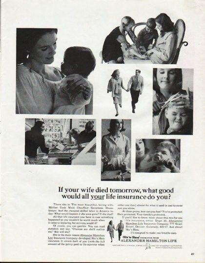 1965 Alexander Hamilton Life Insurance Company Vintage Ad Your