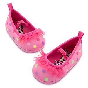 c402f510f774 Disney Minnie Mouse Swim Shoes for Baby