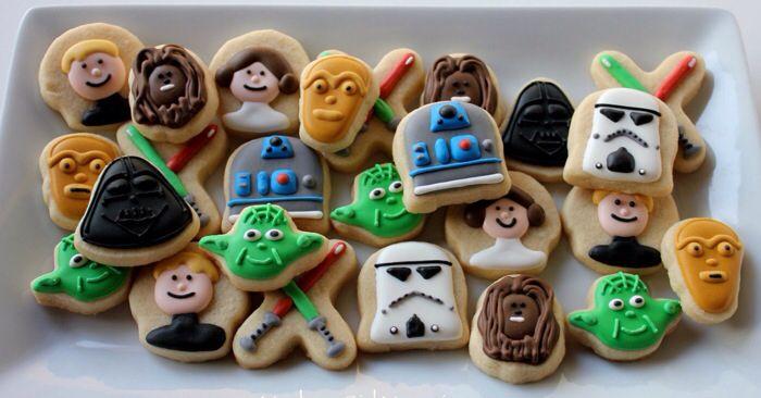 Magnificent Mini Star Wars Cookies Star wars cookies Star wars