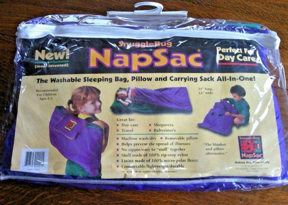 Kid S Sleeping Bag Pillow Snuggle Bug Carrying Sack Bed