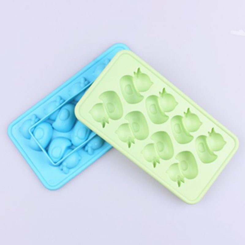 d8910620306d new arrivals duck shaped DIY Creative Ice Cube Mold Silicone Ice ...