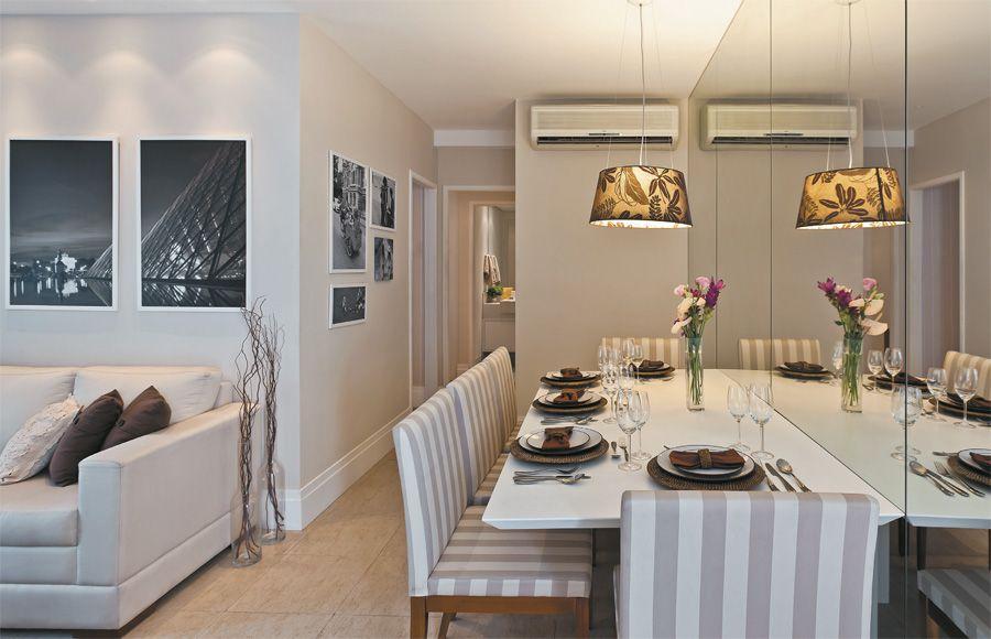 sala de jantar de apartamento comedor Pinterest Corredores