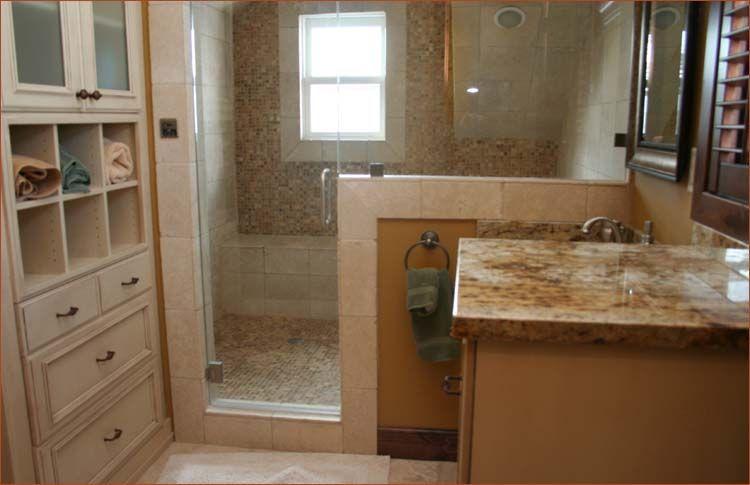 12 X 12 Master Bath With Walk In Closet With Shower No Tub Tub Master