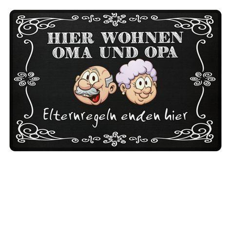 Oma und Opa Matte #grandpagifts