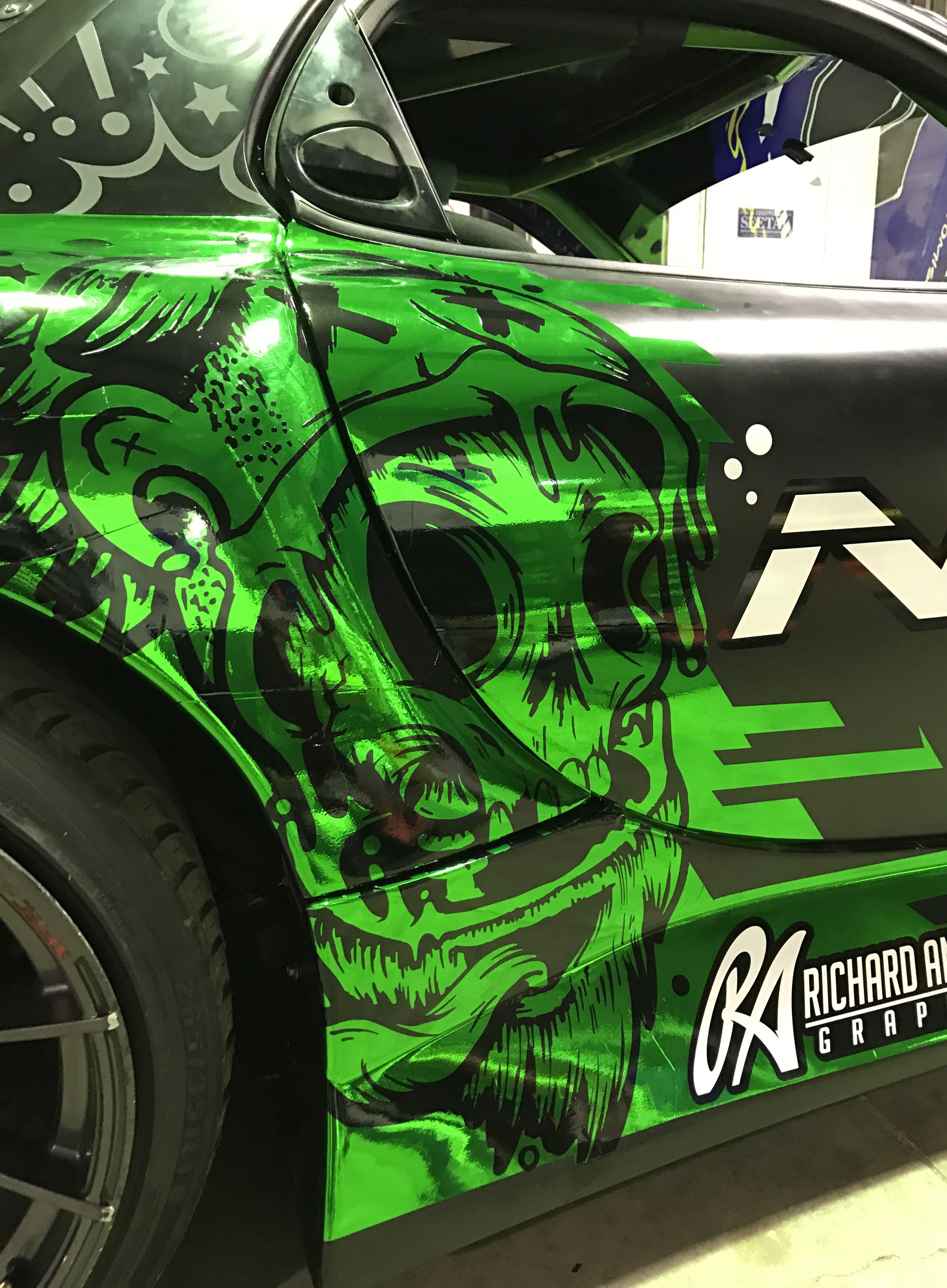 Ra graphics vehicle signage honda city custom wraps van wrap car painting