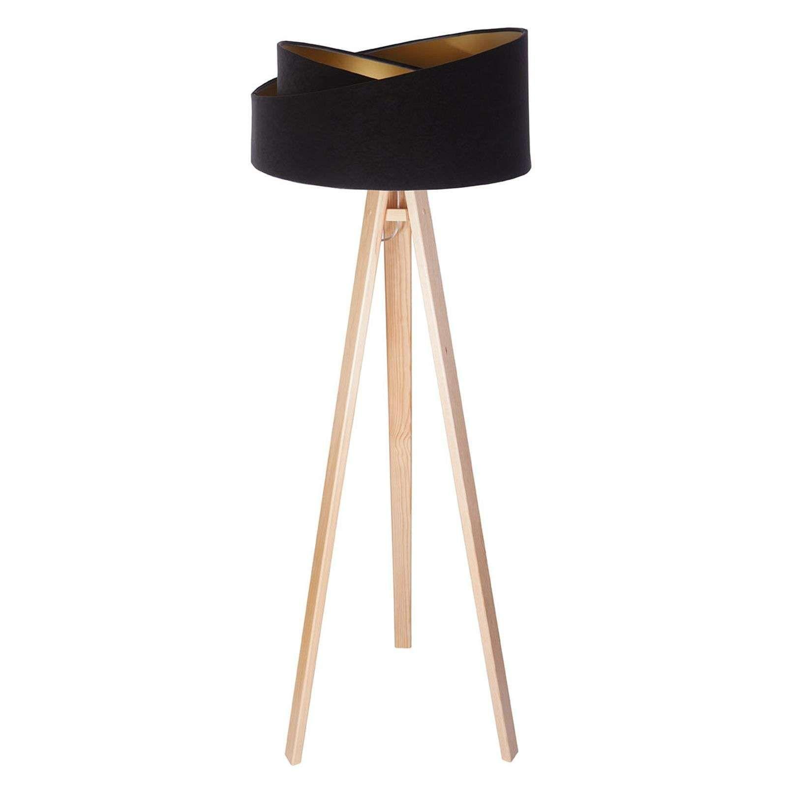 Moderne Stehlampe Schwarz Klassiker Stehleuchten Stehlampe