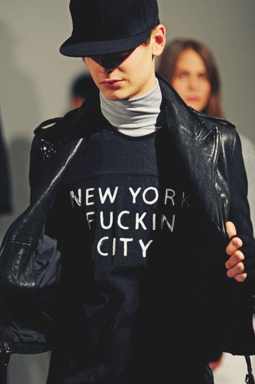 New York Fucking City by Raf Simons