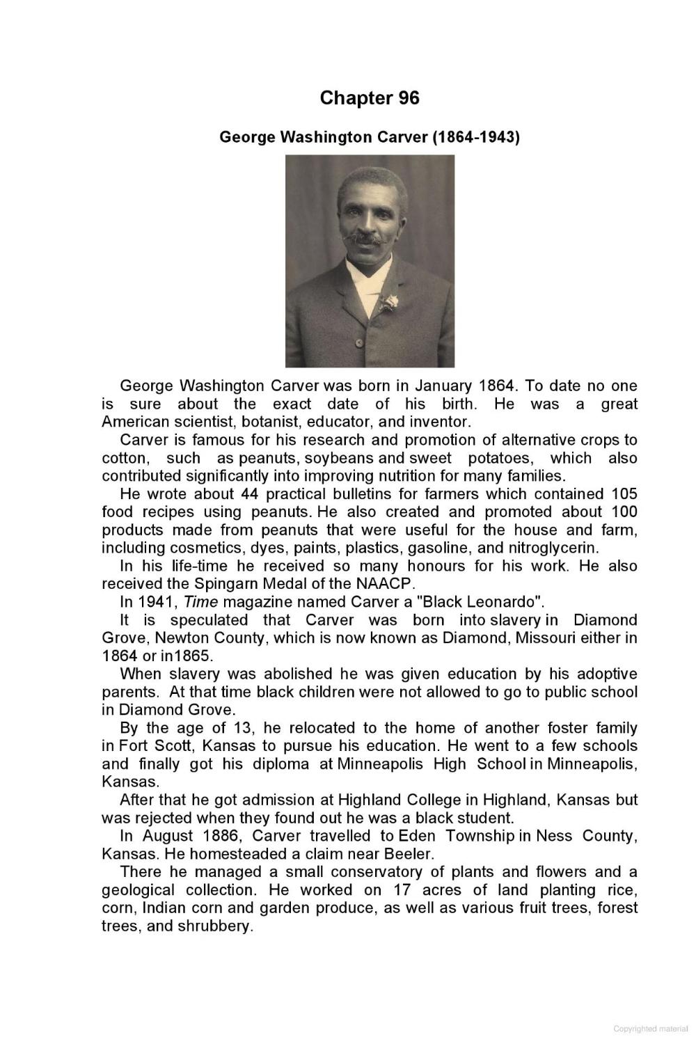 Pin On Gifted Education George Washington Carver Essay