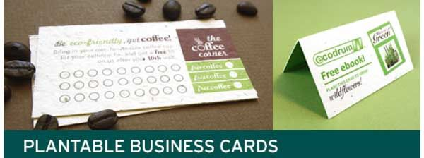 Plantable loyalty cards and business cards made out of seed paper plantable loyalty cards and business cards made out of seed paper eco pinterest colourmoves