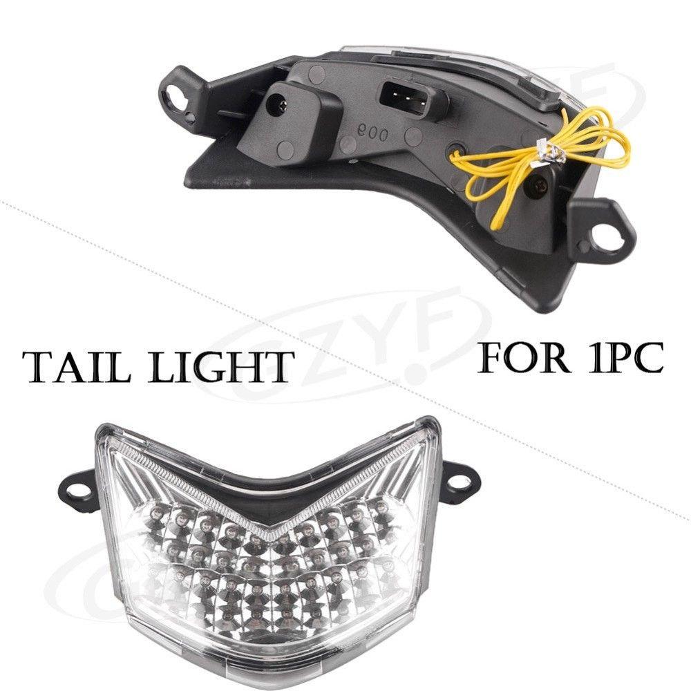 Integrated Tail Light Zx6r Unique In 2020 Tail Light Light Kawasaki Ninja
