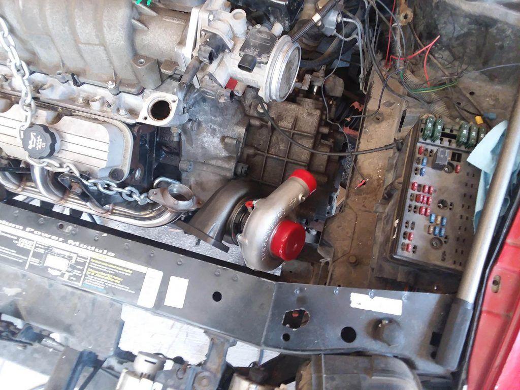 Building A 1997 Saturn Sc2 With A Turbo 3800 V6 Engine Swap Depot Turbo Pontiac Bonneville Engine Swap