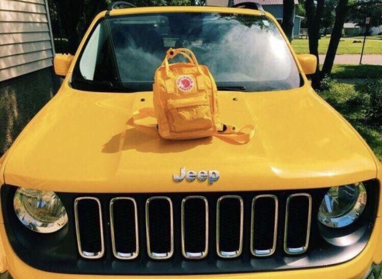 Vsco Happinessinpixels Yellow Jeep Yellow Aesthetic Yellow