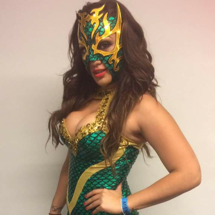 La Hiedra Female Mexican Wrestlers Wrestling Femalewrestlers