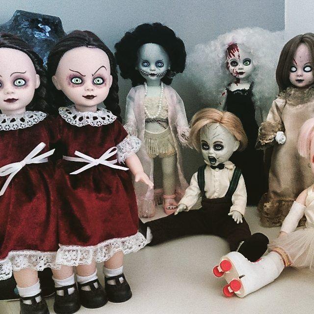 """#livingdeaddoll #creepy #goth #horror"""