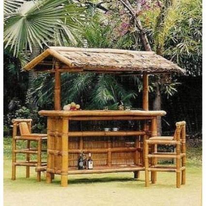 Image Detail For  Bamboo Furniture, Bamboo Tables, Bamboo Tiki Bars,  Tropicalu2026