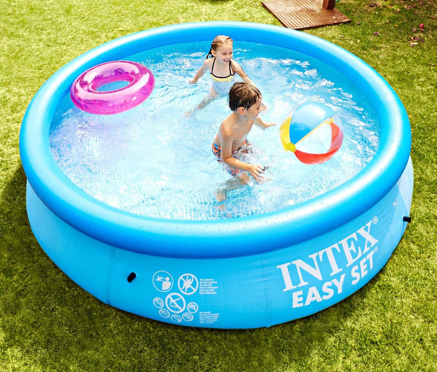 garten-pool für 79,95€ - toll für heiße sommertage: der pool bringt