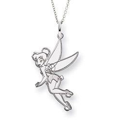 Sterling silver flying tinkerbell pendant officially licensed sterling silver flying tinkerbell pendant officially licensed disney jewelry 62 disney tinkerbell aloadofball Images