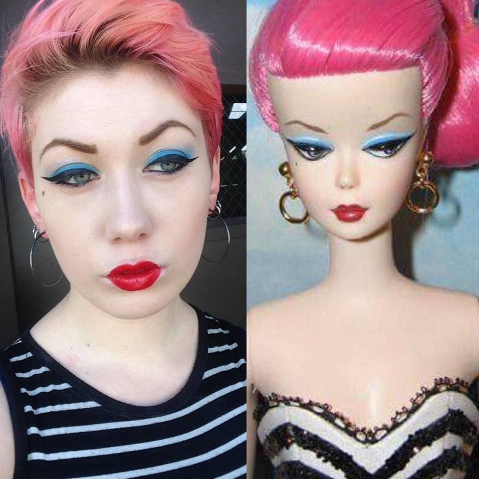 Large Head Doll Styling