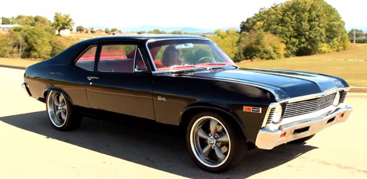 Killer 1969 Chevy Nova 427 Big Block Muscle Car Zoom Zoom