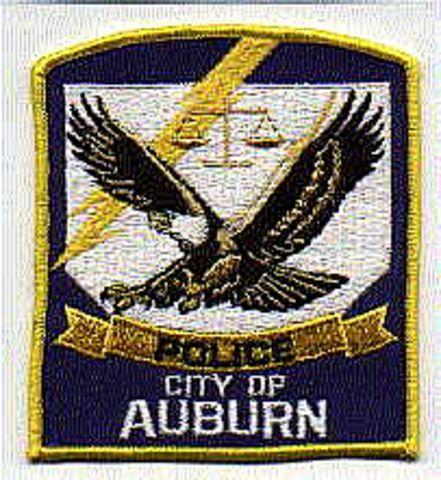 Auburn City Alabama Al Police Patch Insignia Police Patches Auburn City Police
