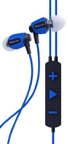 Amazon Com Deal Klipsch Image S4i Rugged In Ear Headphones 60 Off Reg 99 Now 39 99 Http Www Amazon Earbud Headphones Headphone Gifts Black Headphones