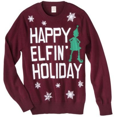 Ugly Sweater Parties With Target! | Sassy, Crew neck sweaters and ...