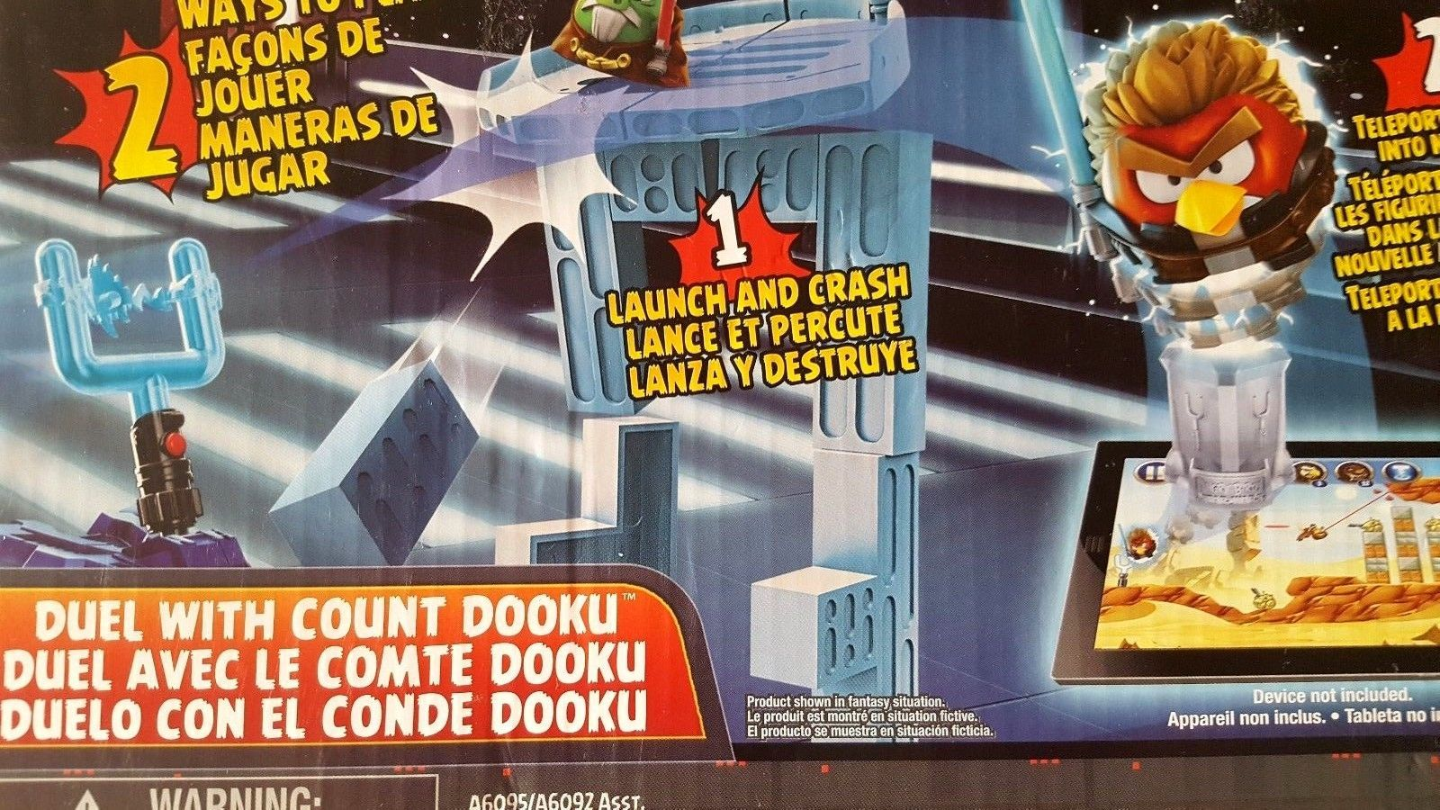 Angry Birds Star Wars Telepods Duel With Count Dooku Ebay