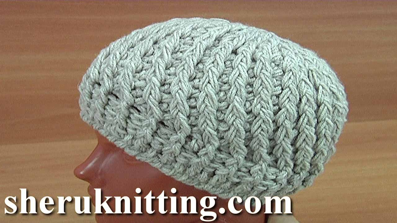 Crocheted 3d beanie hat tutorial 168 crochet puff stitch hat crocheted 3d beanie hat tutorial 168 crochet puff stitch baditri Images