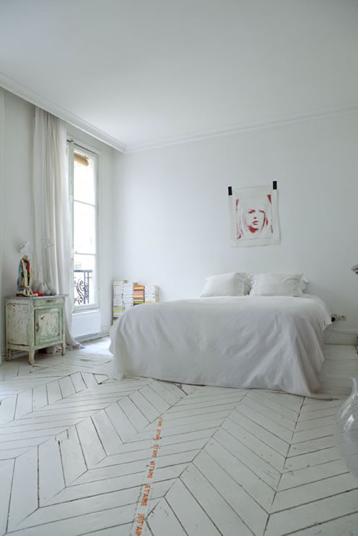 appartement de style deco chambre pinterest parquet maison et appartement. Black Bedroom Furniture Sets. Home Design Ideas