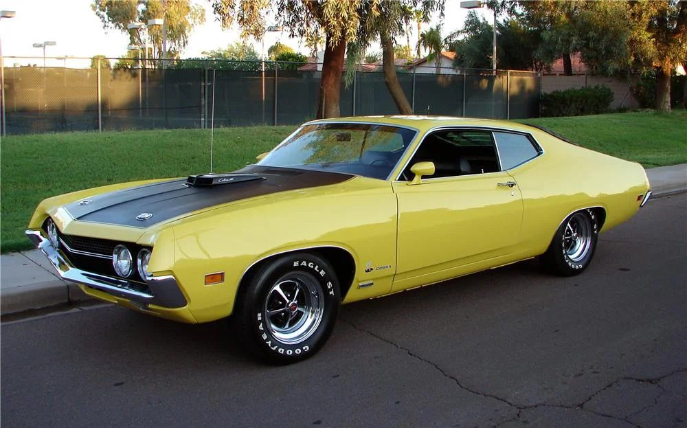 1970 Ford Falcon 429 Cobra Jet Ford Torino Ford Classic Cars Classic Cars